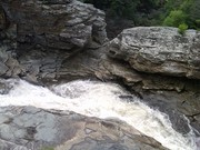 Linville Falls whirlpool