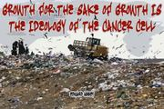 Growth for the sake of growth is the ideology of the cancer cell