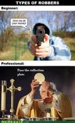 types of robbers