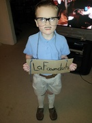 My little brother's Halloween costume