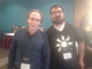 Lawrence Krauss and I