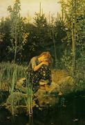 """Alyonushka"" de V. M. Vasnetsov"