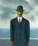 Magritte-The Son Of Man