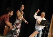 Lucas, Angela e Hermínio