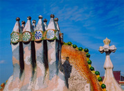 Gaudi_Chimneys