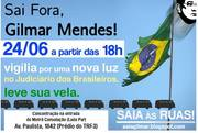 Fora Gilmar São Paulo