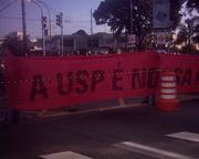 Greve na USP - 09/06/2009