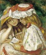 Duas raparigas a ler - Renoir