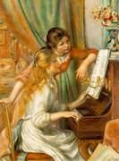 Filles Piano - Renoir