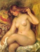 Renoir - Bather with Blonde Hair