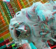 Astronauta em 3D