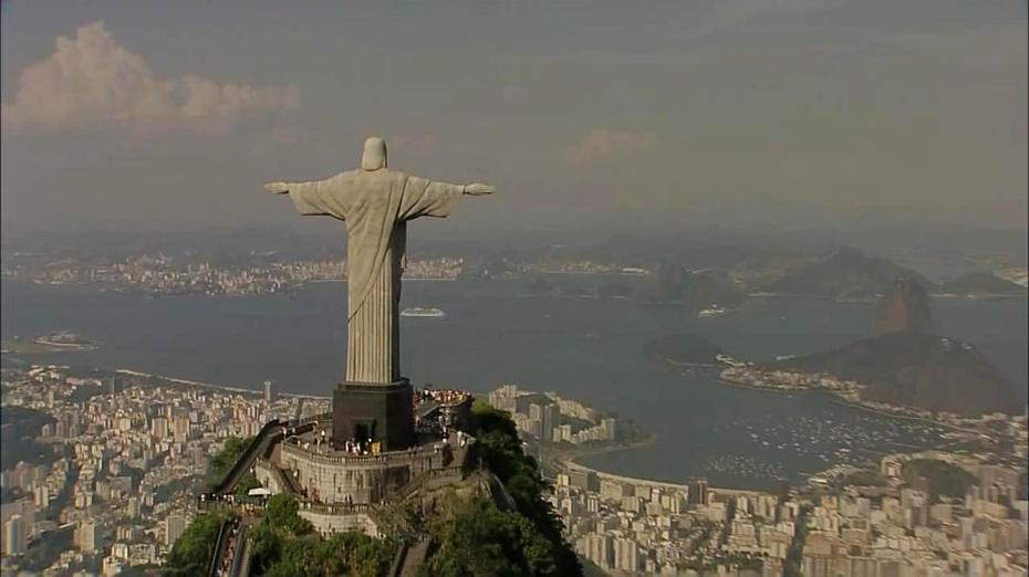Rio visto pelos ares