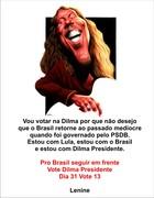 Lenine com Dilma