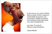 Jardes Macalé com Dilma