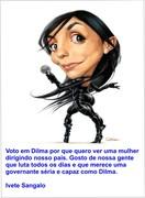Ivete Sangalo com Dilma