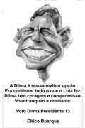 Chico com Dilma