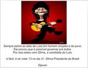 Djavan com Dilma