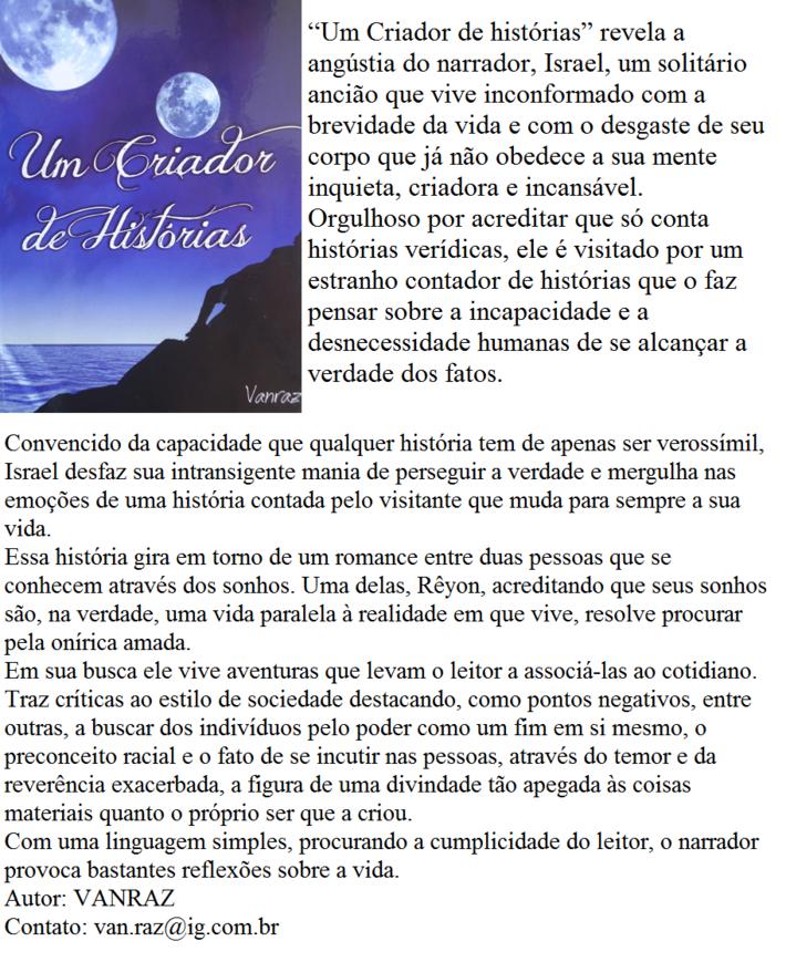 UM CRIADOR DE HISTÓRIAS 3