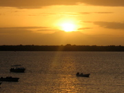 Sunset at Lamu
