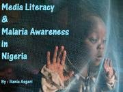 Media Literacy, Nigeria, Nov.2009