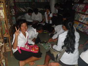Sustainable Cambodia Students.