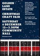 2014 6th Dec  Christmas Fair on GLE