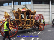 Lord Mayor`s coach.