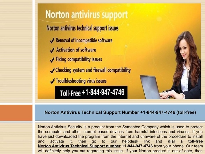 Call us at +1-844-947-4746 Norton 360 customer service phone number