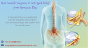 Quick relief from herniated disc