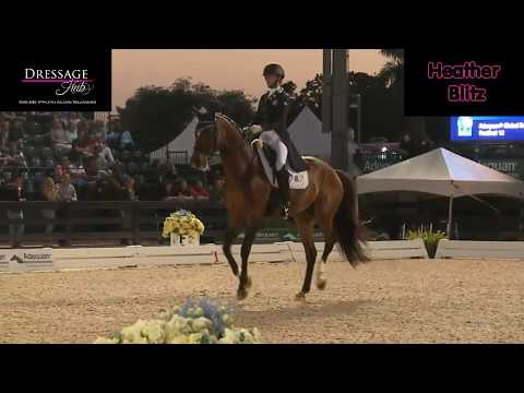 Who Did It Better? Haddad VS Blitz On Semper Fi In Grand Prix Dressage