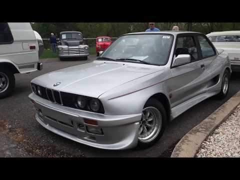 Checking Out Classic Cars With Pam  1986 BMW Gemballa E30  At the 2019 Spring Carlisle  Auction
