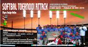 Softbal toernooi Attack