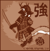 samurai_ferret_badger_by_mudpaw