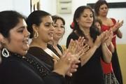 carmen de torres impartiendo curso de flamenco