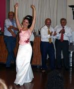 fiesta flameca en la boda de Carmelita (mi hija)