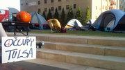 Occupy Tulsa - another Tulsa Ten, 2011