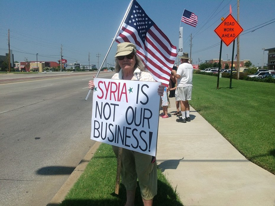 Syria Not Our War 31 Aug 2013 in Tulsa