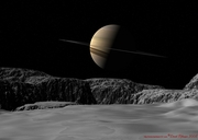 Saturn from Dione