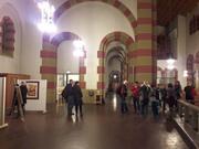 Vista de la expo, en la iglesia St. Michael, Colonia, Alemania.