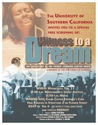 Witness to a Dream - Free Movie Event - in USC University Park neighborhood