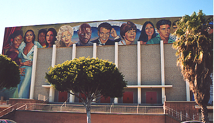 Hollywood High School Auditorium Mural - Diversity in Entertainment