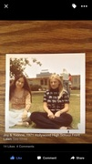Hollywood High School-Lunch On Front Lawn 1971