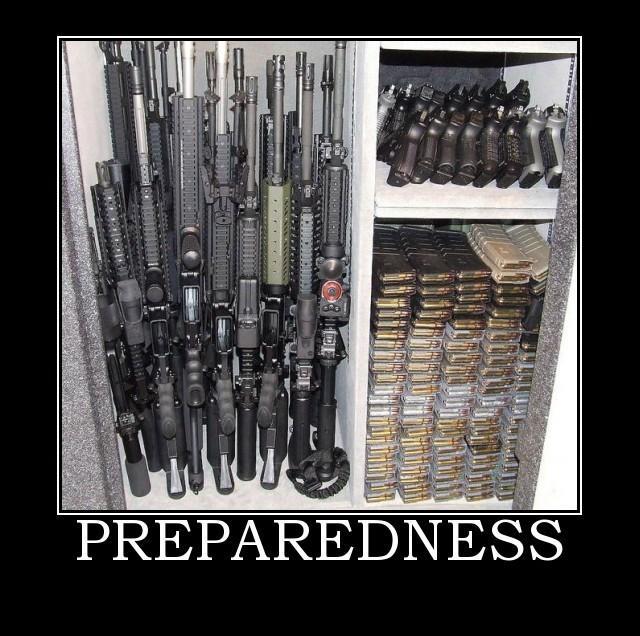 Being Prepared
