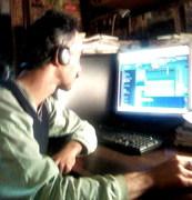 Work in Studio.