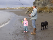 How do you set the hook, Dad?