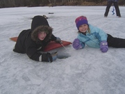 Easter Ice Fishing Expedition