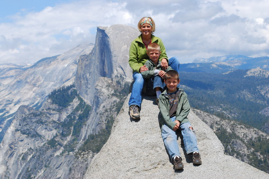 Half Dome Family Portrait