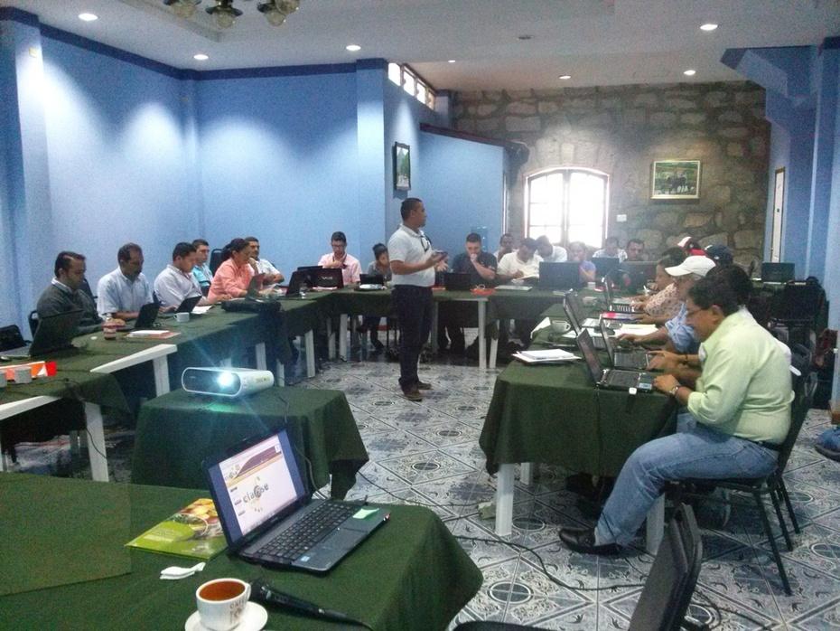 Participantes Taller en Matagalpa Nicaragua