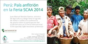 """CONFERENCIA DE PRENSA: """"CAFE PERUANO EN LA FERIA INTERNACIONAL SCAA 2014"""""""