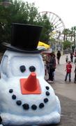 carsland snowman car!